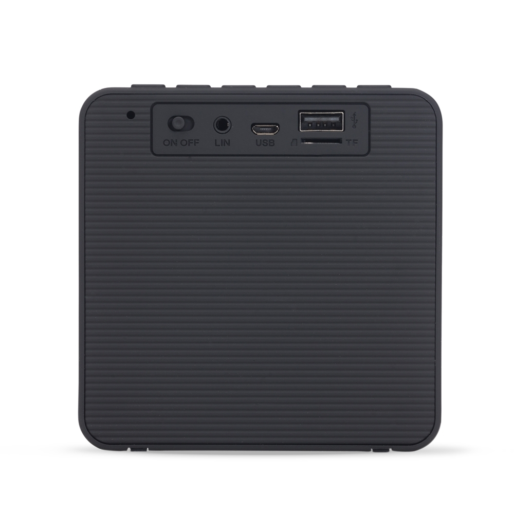 Caixa de Som Bluetooth com Relógio Digital 2071 - Gráfica e Brindes Ipê - Patos de Minas - MG