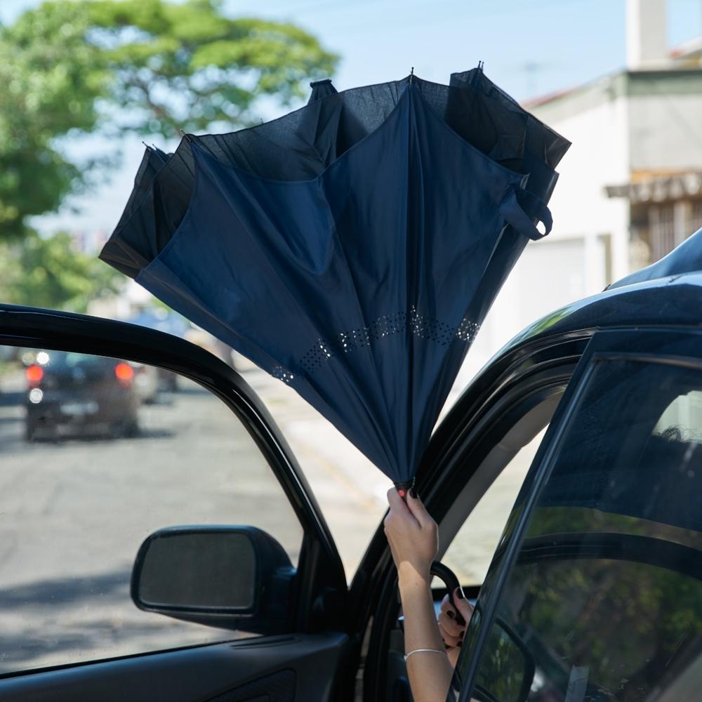 Guarda-chuva Invertido 13857 - Gráfica e Brindes Ipê - Patos de Minas - MG