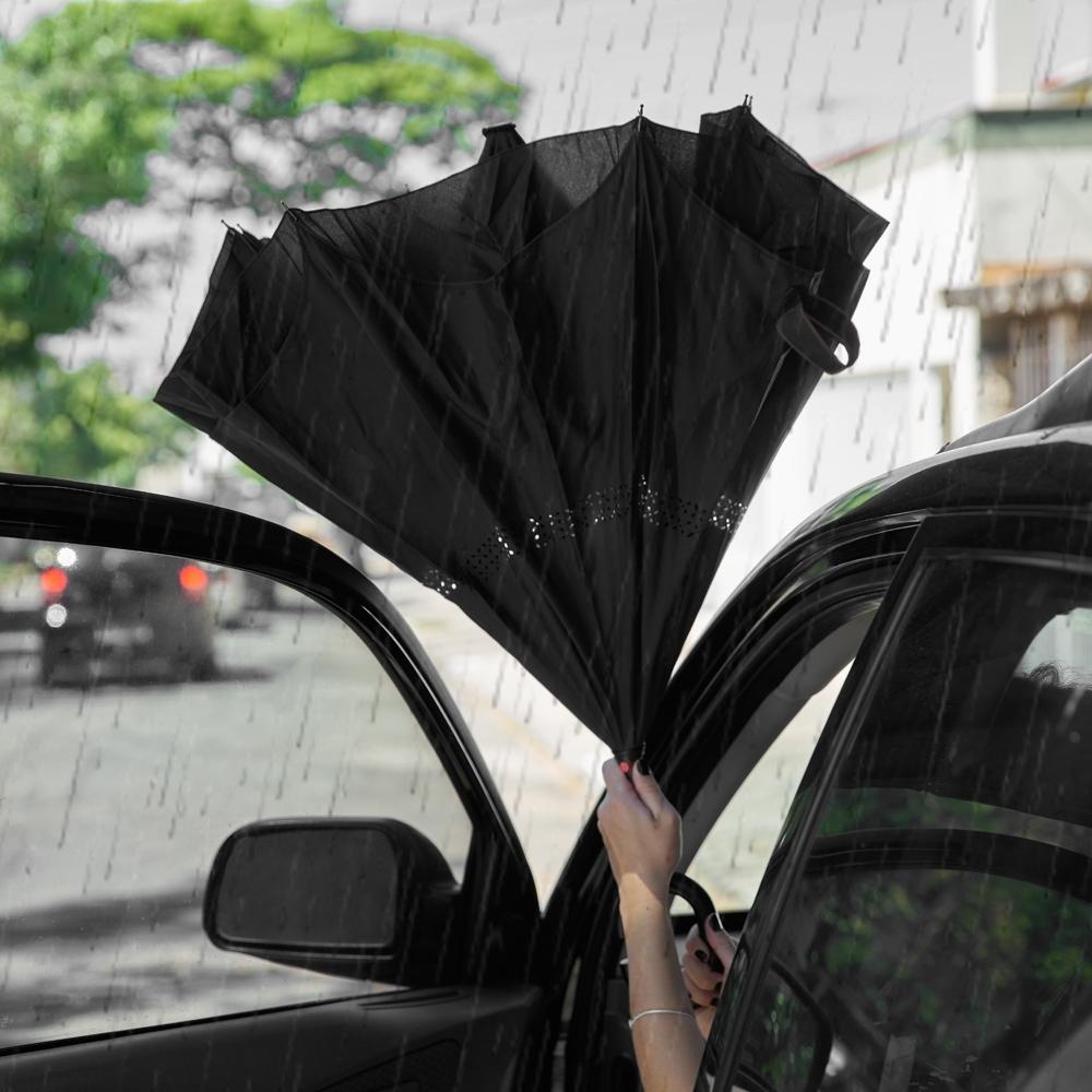 Guarda-chuva Invertido 2078 - Gráfica e Brindes Ipê - Patos de Minas - MG