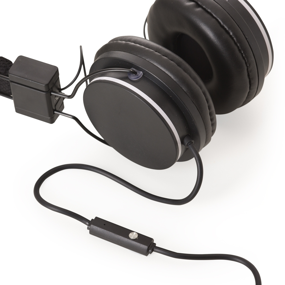 Headfone Estéreo com Microfone 13186 - Gráfica e Brindes Ipê - Patos de Minas - MG