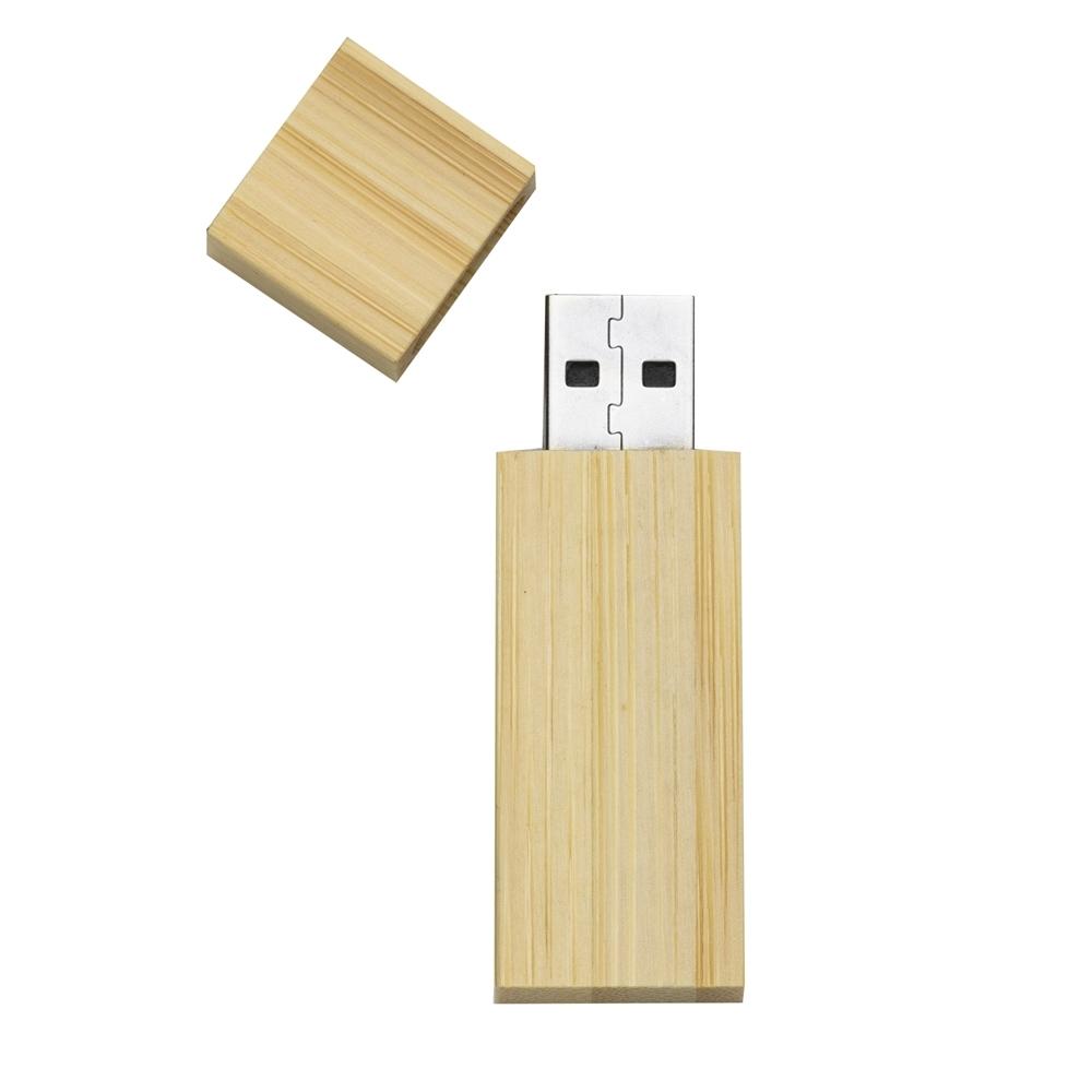 Pen Drive 4GB Bambu 011-4GB - Gráfica e Brindes Ipê - Patos de Minas - MG