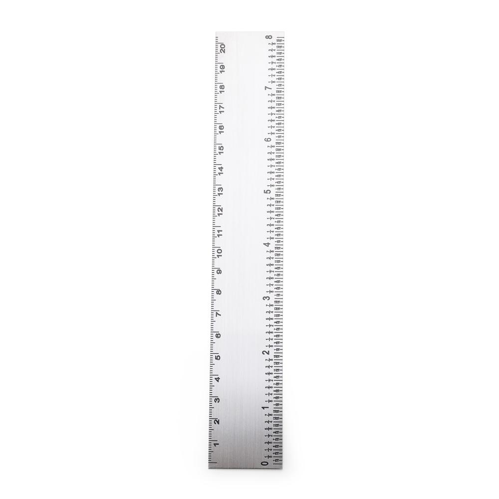 Régua 20cm Inox 13119 - Gráfica e Brindes Ipê - Patos de Minas - MG